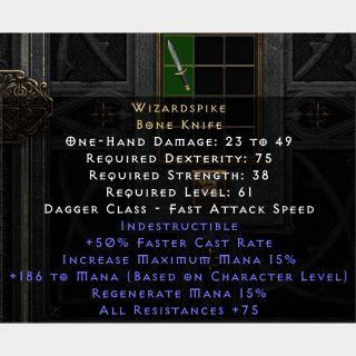 Uniques   Wizard Spike D2R