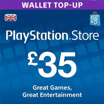 £35 UK PSN VOUCHER - PlayStation Store Gift Cards - Gameflip