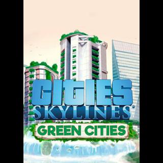 Cities: Skylines - Green Cities (DLC) Steam Key GLOBAL