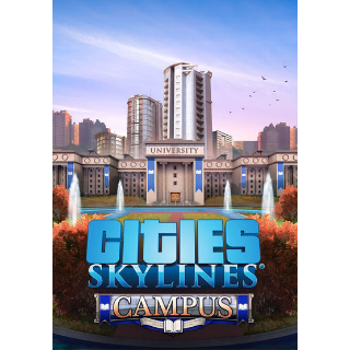 Cities: Skylines - Campus (DLC) Steam Key GLOBAL