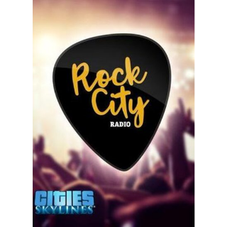 Cities: Skylines - Rock City Radio (DLC) Steam Key GLOBAL