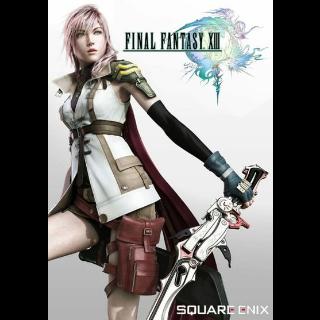 Final Fantasy XIII Steam Key GLOBAL