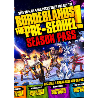 Borderlands: The Pre-Sequel - Season Pass (DLC) Steam Key GLOBAL