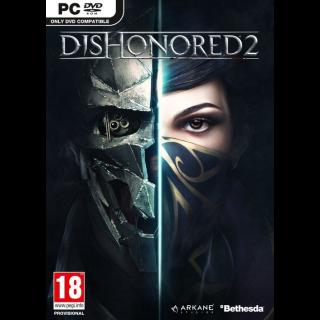 Dishonored 2 Steam Key Global