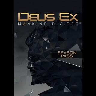 Deus Ex: Mankind Divided (Season Pass) (DLC) Steam Key GLOBAL