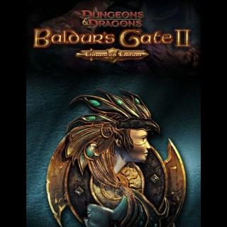 Baldurs Gate II (Enhanced Edition) Steam Key GLOBAL