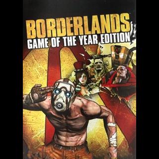 Borderlands (GOTY) Steam Key GLOBAL