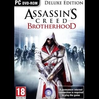Assassin's Creed: Brotherhood (Deluxe Edition) Uplay Key GLOBAL