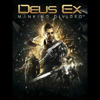 Deus Ex: Mankind Divided (Digital Deluxe Edition) Steam Key GLOBAL