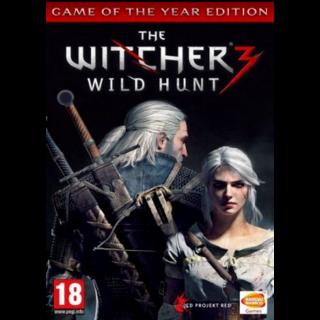 The Witcher 3 Wild Hunt GOTY GOG.COM Key Global