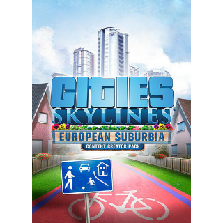 Cities: Skylines - European Suburbia (DLC) Steam Key GLOBAL
