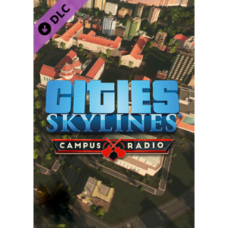 Cities: Skylines - Campus Radio (DLC) Steam Key GLOBAL