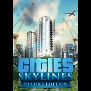 Cities: Skylines (Digital Deluxe Edition) Steam Key GLOBAL