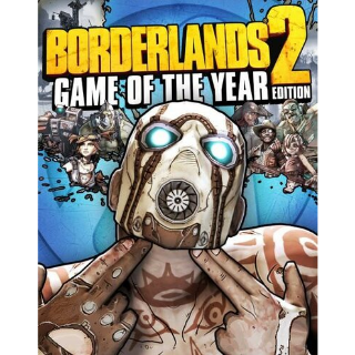 Borderlands 2 (GOTY) Steam Key GLOBAL