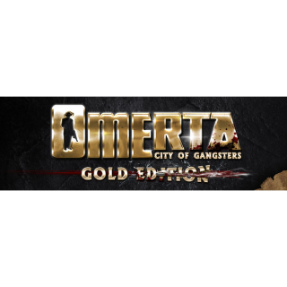 Omerta - City of Gangsters - GOLD EDITION (Steam/Global Instant Delivery)