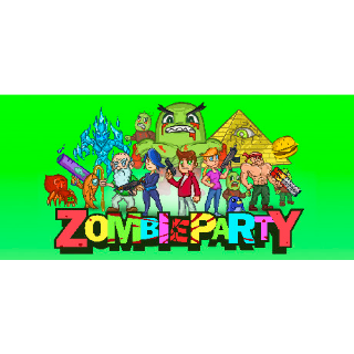 Zombie Party  steam/global instant delivery (selling on steam for 9.99$)
