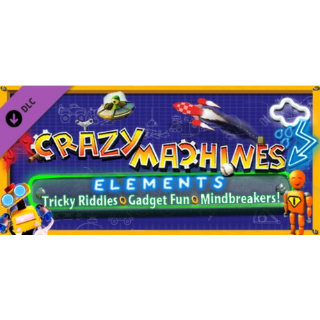 Crazy Machines Elements DLC - Gadget Fun & Tricky Riddles DLC (Steam/Global Instant Delivery)