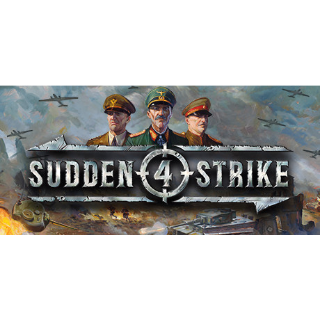 Sudden Strike 4 (Steam/Global Instant Delivery/2)