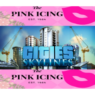 Cities: Skylines + After Dark DLC (Steam/Global Instant Delivery/1)