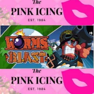 Worms Blast (super cute price follow an rate plz Steam/Global Instant Delivery)
