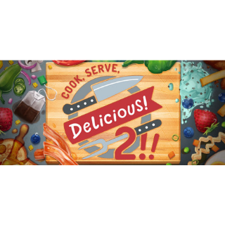 Cook, Serve, Delicious! 2!! (Steam/Global Instant Delivery)