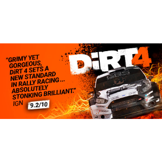 DiRT 4 (Steam/Global Instant Delivery/1)
