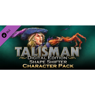 Talisman - Character Pack #9 - Shape Shifter steam/global instant delivery