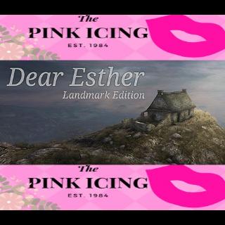 Dear Esther: Landmark Edition (Steam/Global Instant Delivery/1)