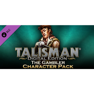 Talisman - Character Pack #6 - Gambler steam/global instant delivery