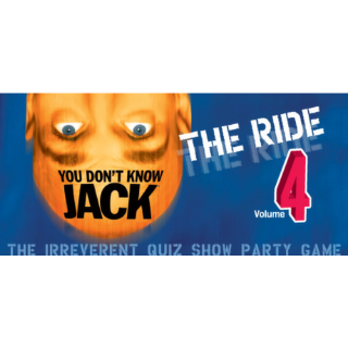 YOU DON'T KNOW JACK Vol. 4: The Ride (Steam/Global Instant Delivery/2)