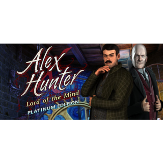 Alex Hunter - Lord of the Mind Platinum Edition (Steam/Global Instant Delivery)