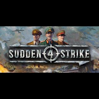 Sudden Strike 4 (Steam/Global Instant Delivery/1)