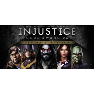 Injustice Gods Among Us Ultimate Edition (Steam/Global Instant Delivery/3)