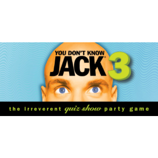 YOU DON'T KNOW JACK Vol. 3 (Steam/Global Instant Delivery/1)