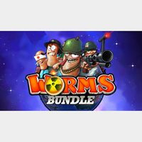 ✔️Worms Complete BUNDLE - 11 Games!