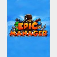 Epic Manager - Create Your Own Adventuring Agency