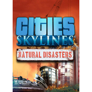 ✔️Cities: Skylines - Natural Disasters (DLC)