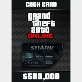 Grand Theft Auto Online (GTA V 5): Bull Shark Cash Card - Rockstar Key (PC) ✔️