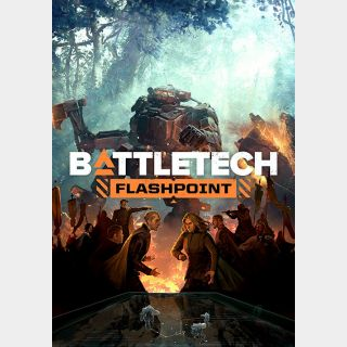 BATTLETECH + 2 DLCs (Flashpoint and Shadow Hawk Pack) [Global Steam Key and Instant delivery]