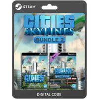 ✔️Cities: Skylines + 4x DLC Bundle