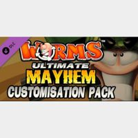 Worms Ultimate Mayhem - Customisation Pack DLC