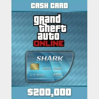 Grand Theft Auto Online (GTA V 5): Tiger Shark Cash Card PC ✔️