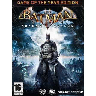 ✔️Batman Arkham Asylum GOTY - Steam Key