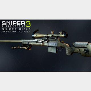 Sniper Ghost Warrior 3 - Sniper Rifle McMillan TAC-338A