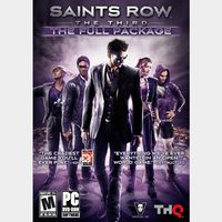 ✔️Saints Row: The Third - The Full Package
