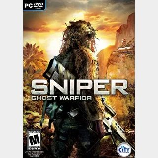 ✔️Sniper: Ghost Warrior 1 Gold Edition