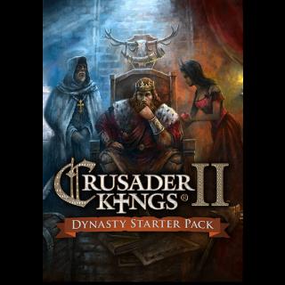 ✔️Crusader Kings II + Dynasty Starter Pack