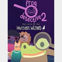 ✔️Frog Detective 2: The Case of the Invisible Wizard