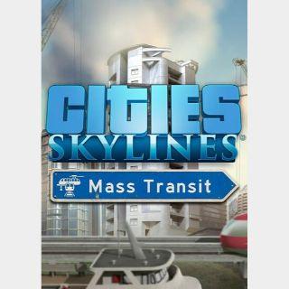 Cities: Skylines - Mass Transit (DLC)