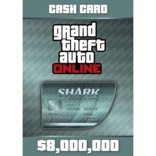 Grand Theft Auto Online (GTA V 5): Megalodon Shark Cash Card Rockstar Key (PC) ✔️